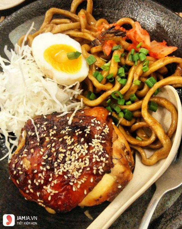 Đồ ăn ở Kukai Udon