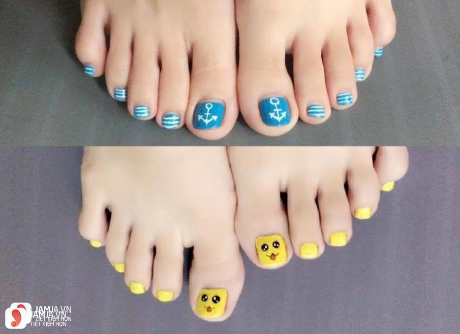 Các màu móng chân đẹp giành cho từng loại da 4