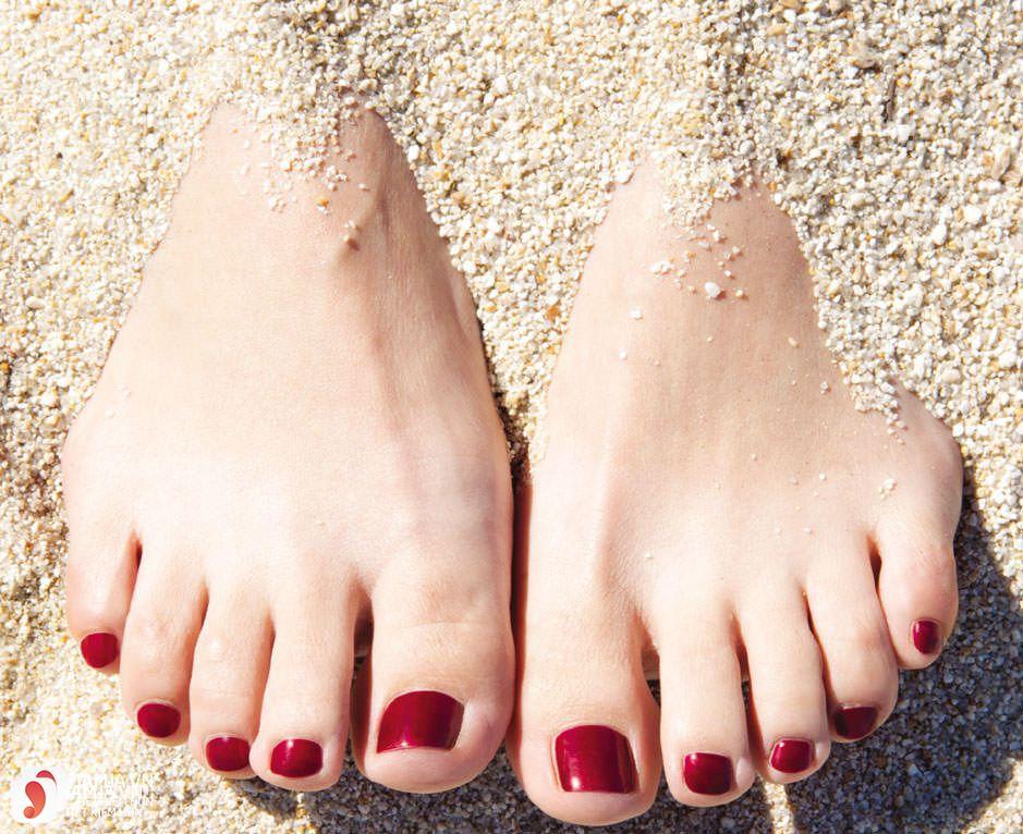 màu sơn móng chân đẹp