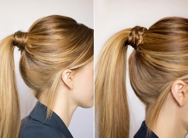 Cách buộc tóc dài dễ thương cho bạn gái