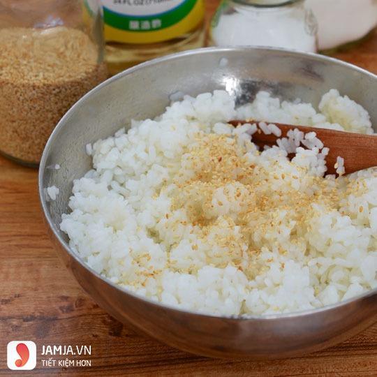 cách làm cơm cuộn không cần rong biển-2