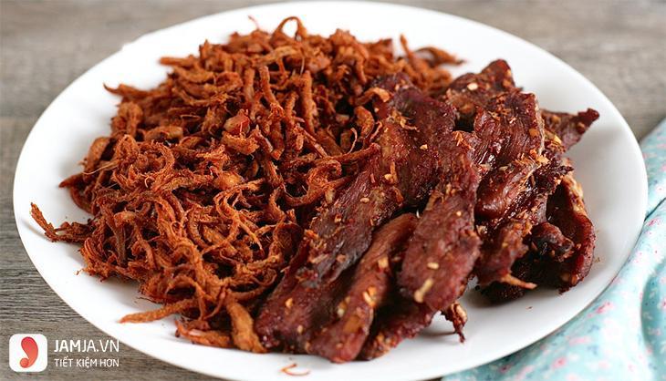 cách làm thịt lợn khô không cần lò nướng-1