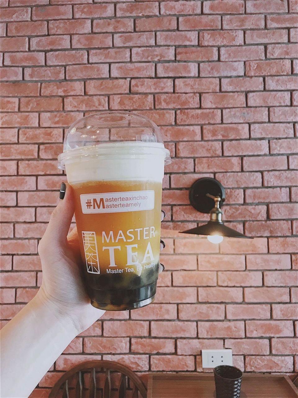 Menu trà sữa Master Tea-1