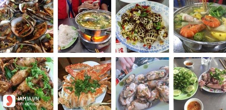 Quán nhậu ngon ở Đà Nẵng - hải sản bé mặn