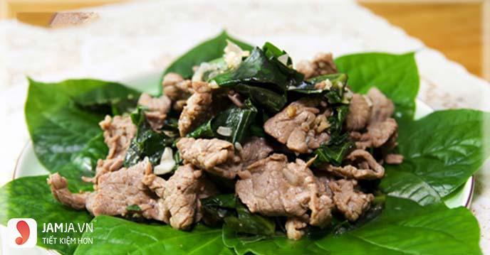 cách làm thịt bê xào lá lốt-4