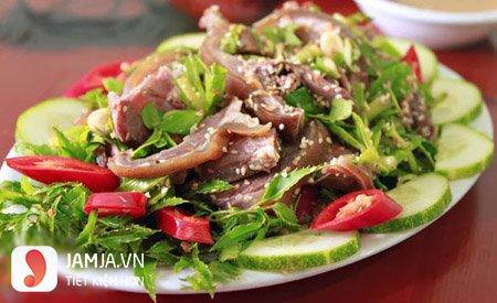 Cách chế biến thịt bê hấp lá tía tô-5