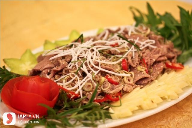 Cách nấu thịt đà điểu xào sả ớt