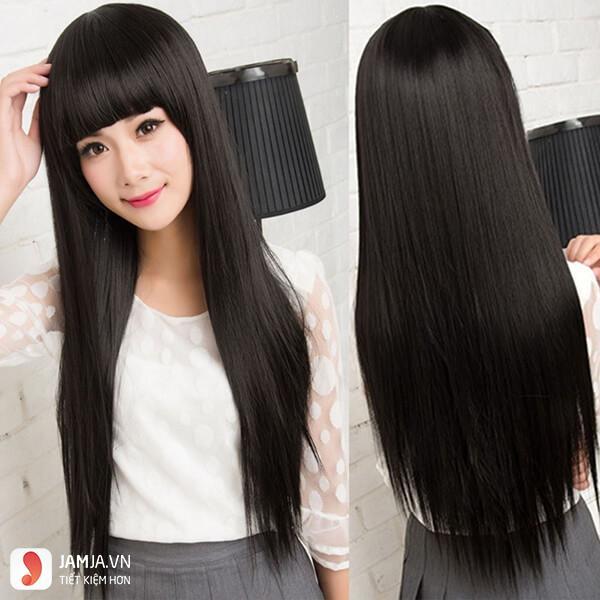 tóc đen dài thẳng đẹp3