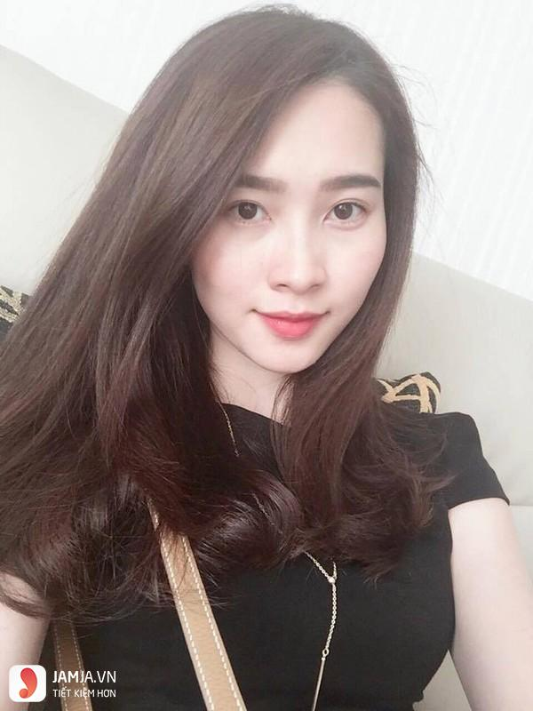 Nhuộm tóc màu nâu đen