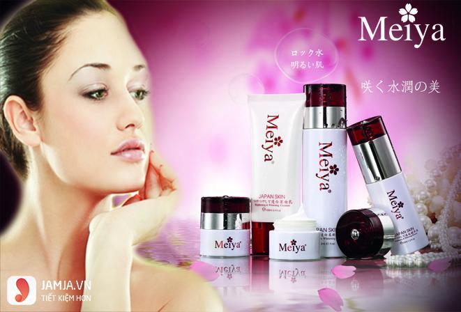 review chi tiết mỹ phẩm meiya 2