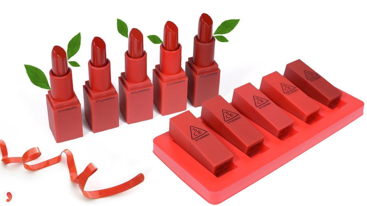 Set son 3CE Red Recipe Color Mini Kit giá bao nhiêu 1
