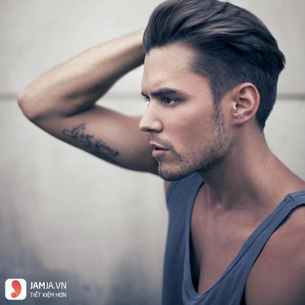 Kiểu vuốt ngược cho nam tóc thưa và mỏng3