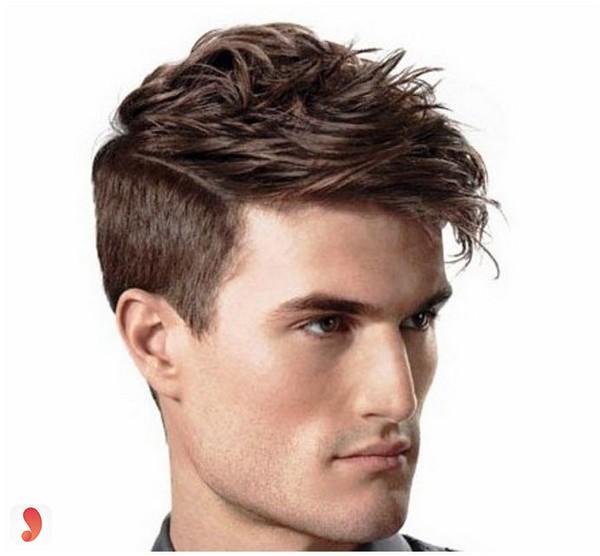 Kiểu tỉalayer cắt ngắn ở 2 bên mai tóc cho tóc thưa và mỏng3