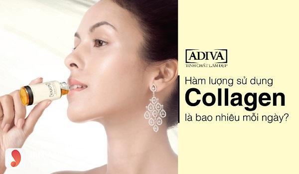 cách bổ sung collagen adiva 2
