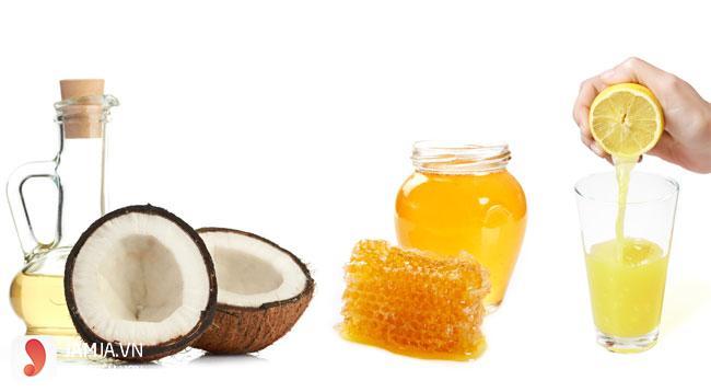 Dưỡng môi bằng mật ong và dầu dừa 1