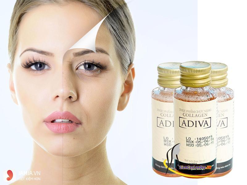 Tác dụng nổi bật của collagen adiva 1