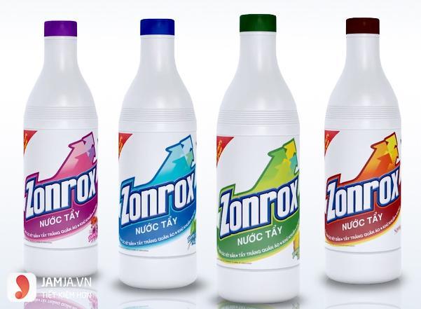 Thuốc tẩy trắng Zonrox 1