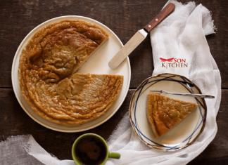 cách làm bánh gan nướng