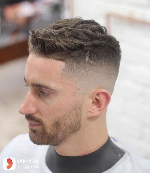 Kiểu tóc undercut mái ngắn 2