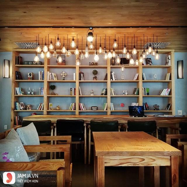 Quán cafe sách yên tĩnh ở Sài Gòn