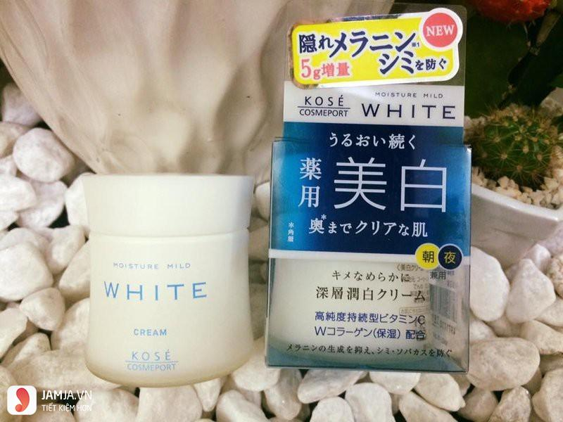 Kose Moisture Mild White Cream