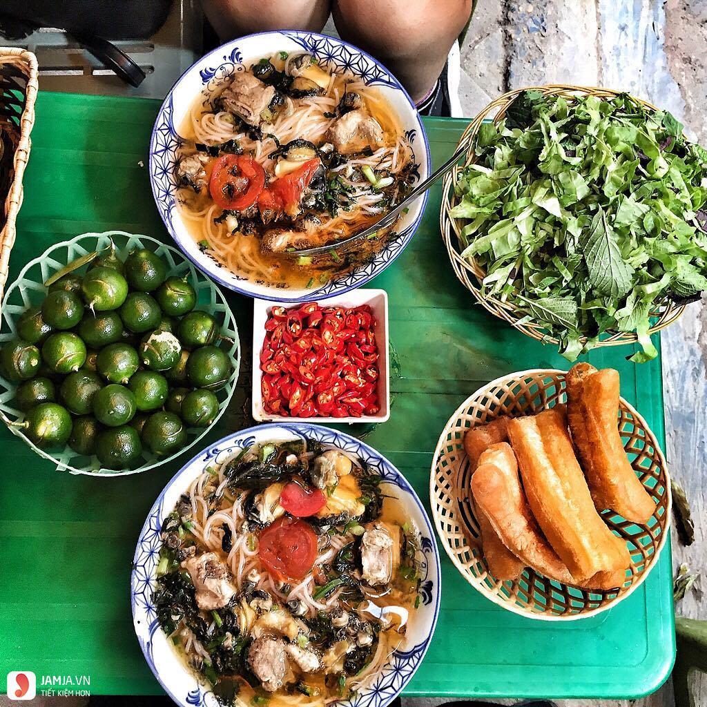 Bún ốc- chợ Đồng Xuân 1