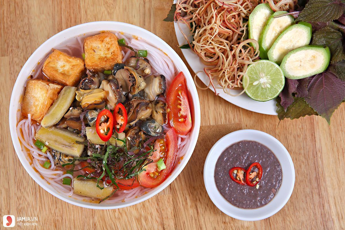 Bún ốc- chợ Đồng Xuân 2