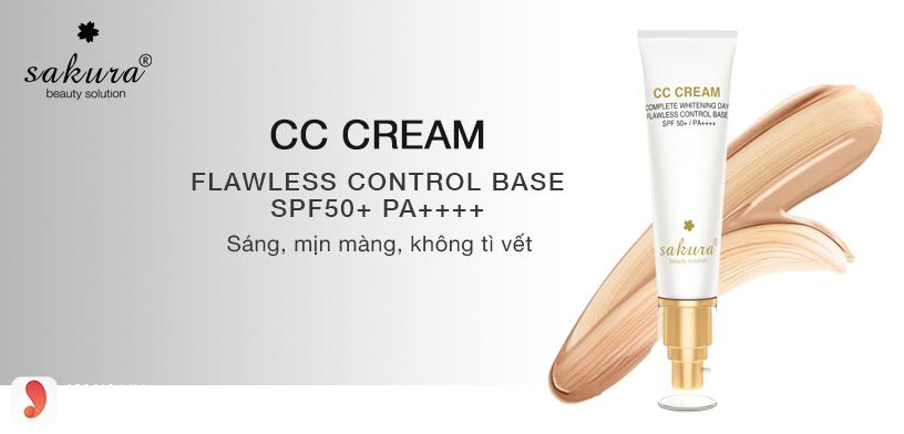 Kem trang điểm CC Cream Sakura giá bao nhiêu?