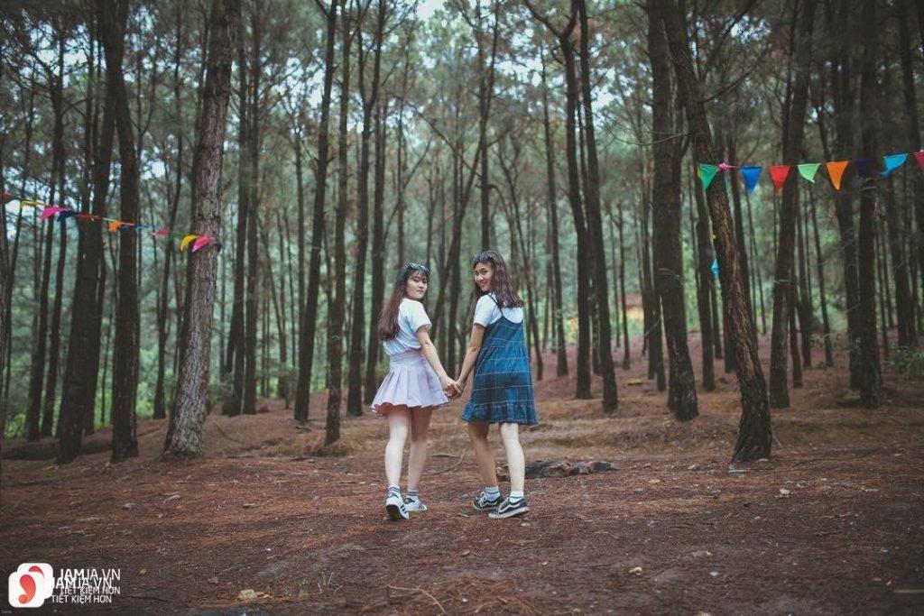Những địa điểm cắm trại giá rẻ tại Hà Nội 14