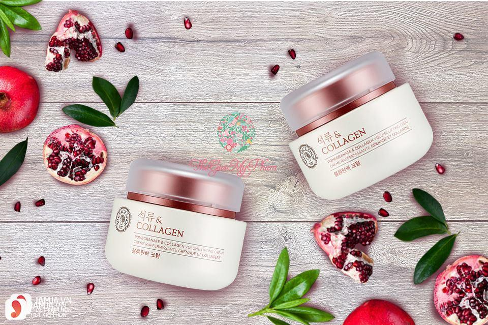 Kem dưỡng trắng da Pomegranate And Collagen Volume Lifting Cream 1