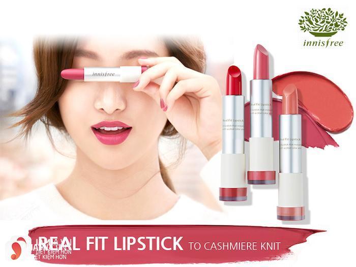 SonInnisfree Real Fit Lipstick 5