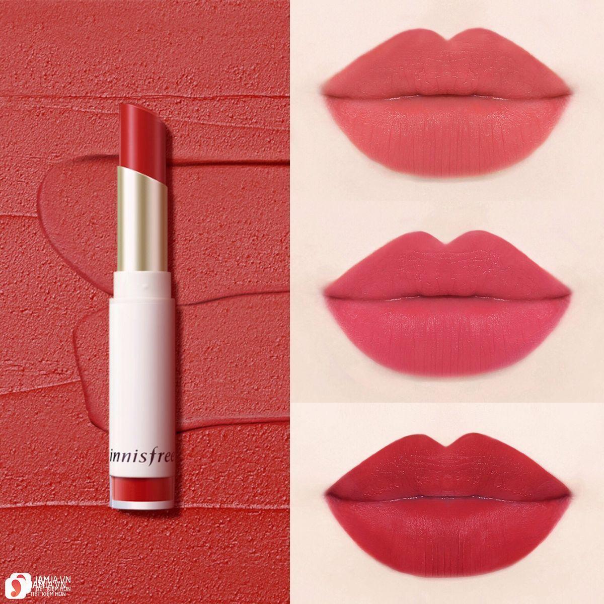 Son Innisfree Real Fit Velvet Lipstick 2