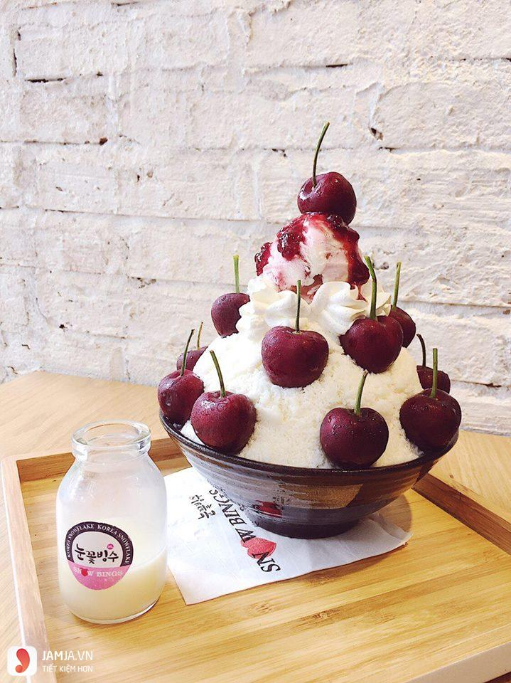 Bingsu Cherry SNOW BINGS