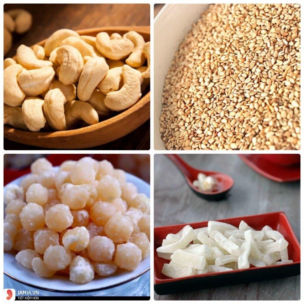 Nguyên liệu làm bánh Trung Thu dẻo đơn giản 8