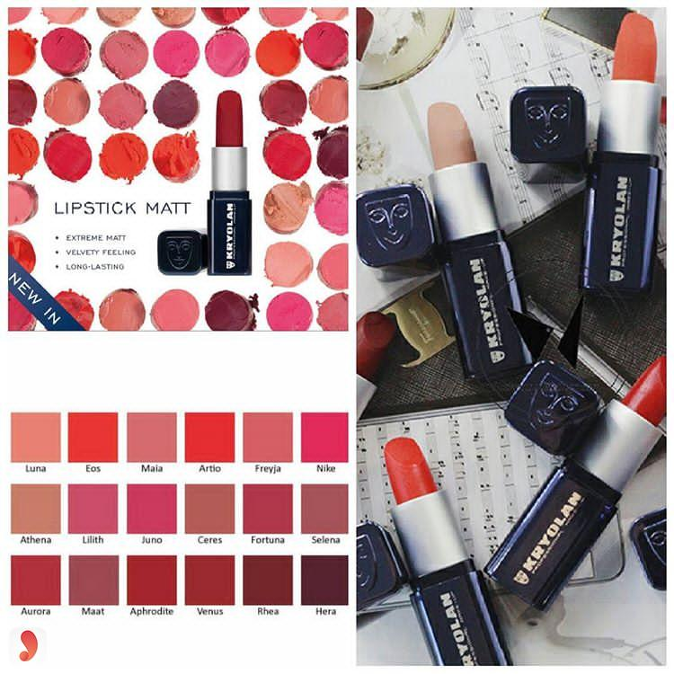 Kryolan Lipstick Matt Freyja Maat 1