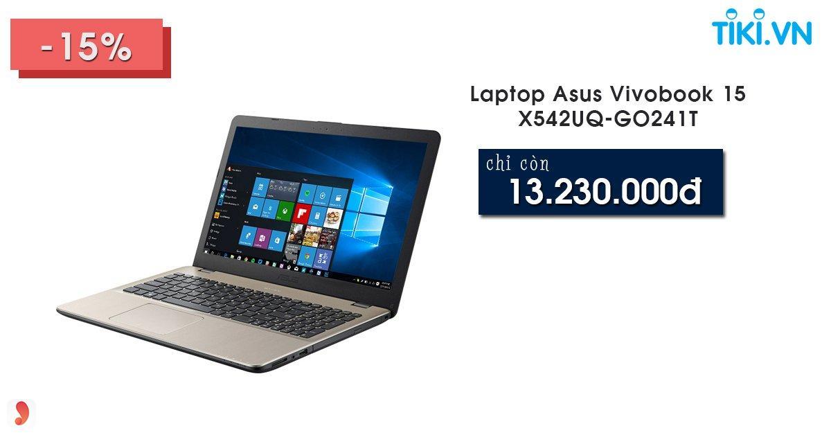 Laptop Asus có giá bao nhiêu