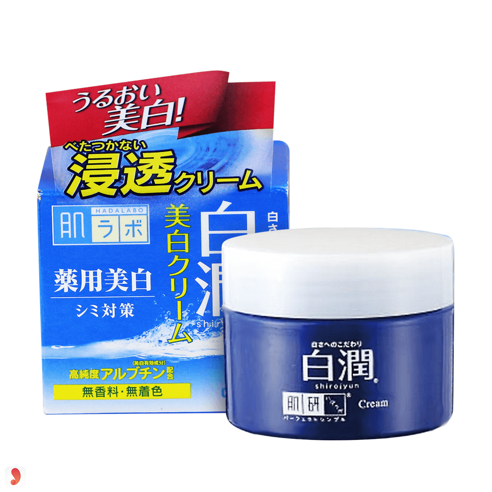 Kem dưỡng trắng da Hada Labo Shirojyun Cream