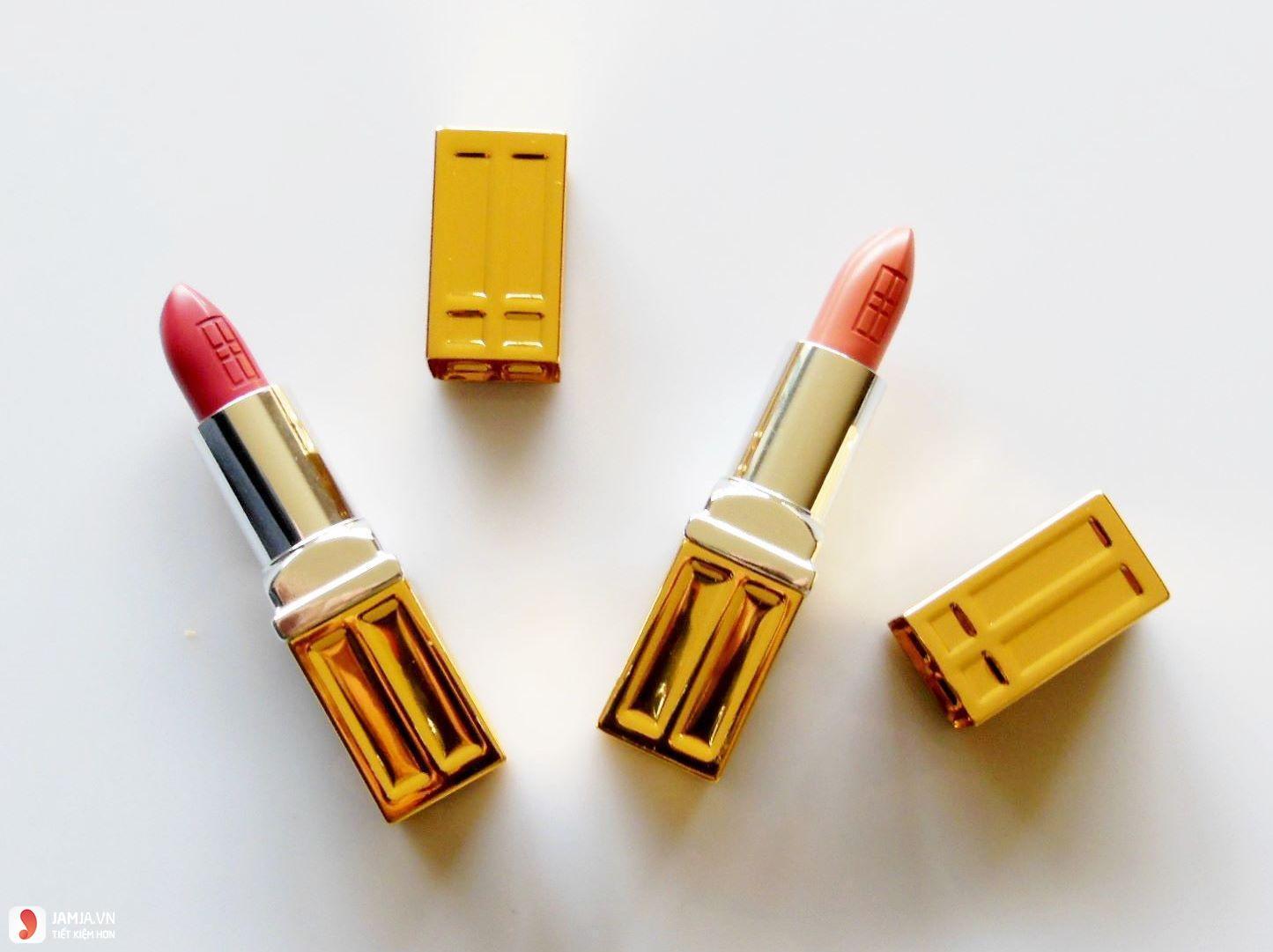 Độ lên màu của son Elizabeth Arden Beautiful Color Moisturizing Lipstick 1