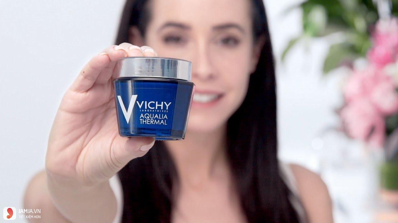 Cách sử dụng mặt nạ ngủ Vichy Aqualia Thermal Night Spa hiệu quả 1