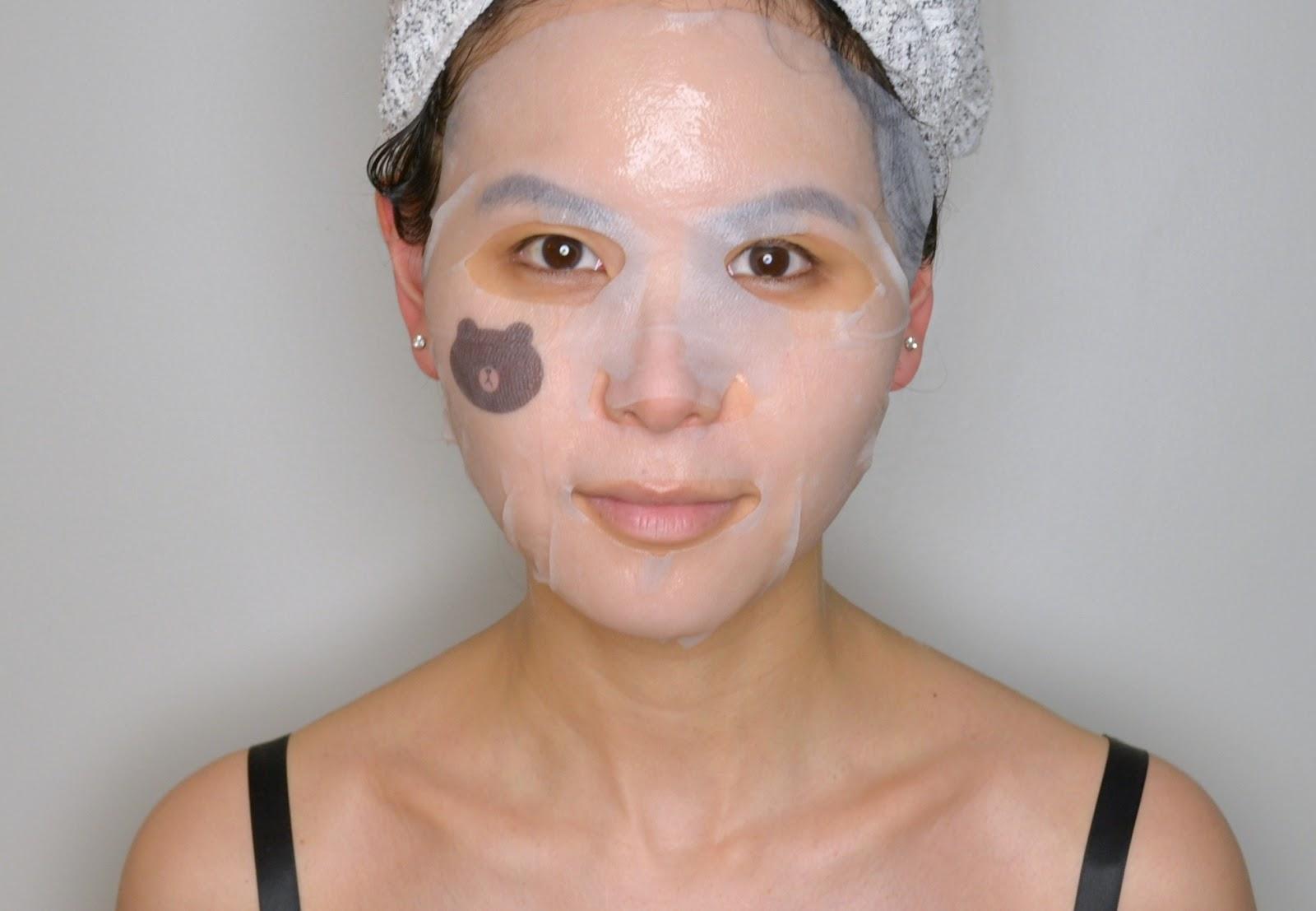 Thiết kế của mặt nạMediheal Line-Friends Ampoule Mask Sheet 1