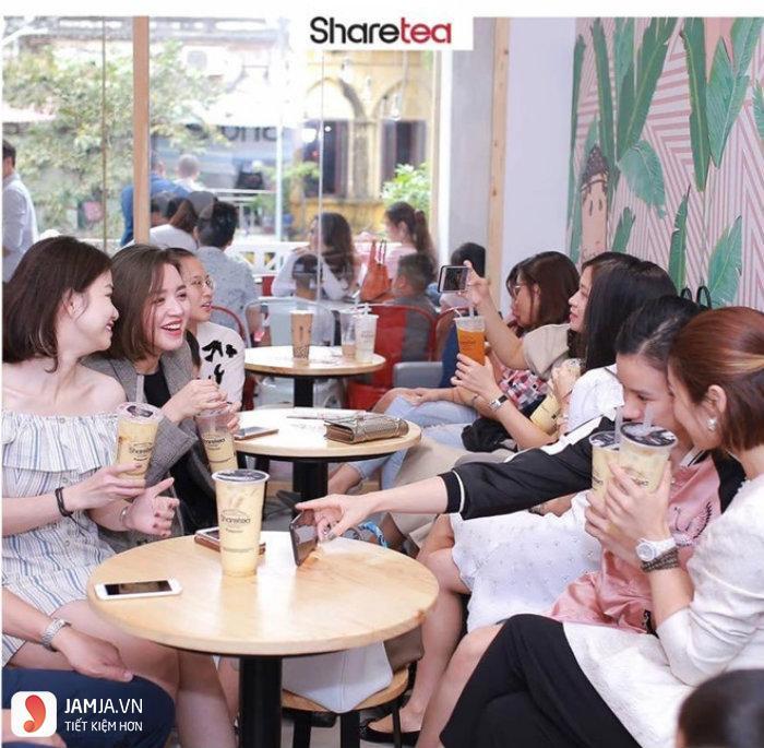 thương hiệu trà sữa sharetea 3
