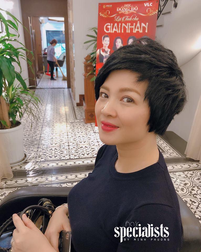 cắt ngắn tại Salon Minh Phương