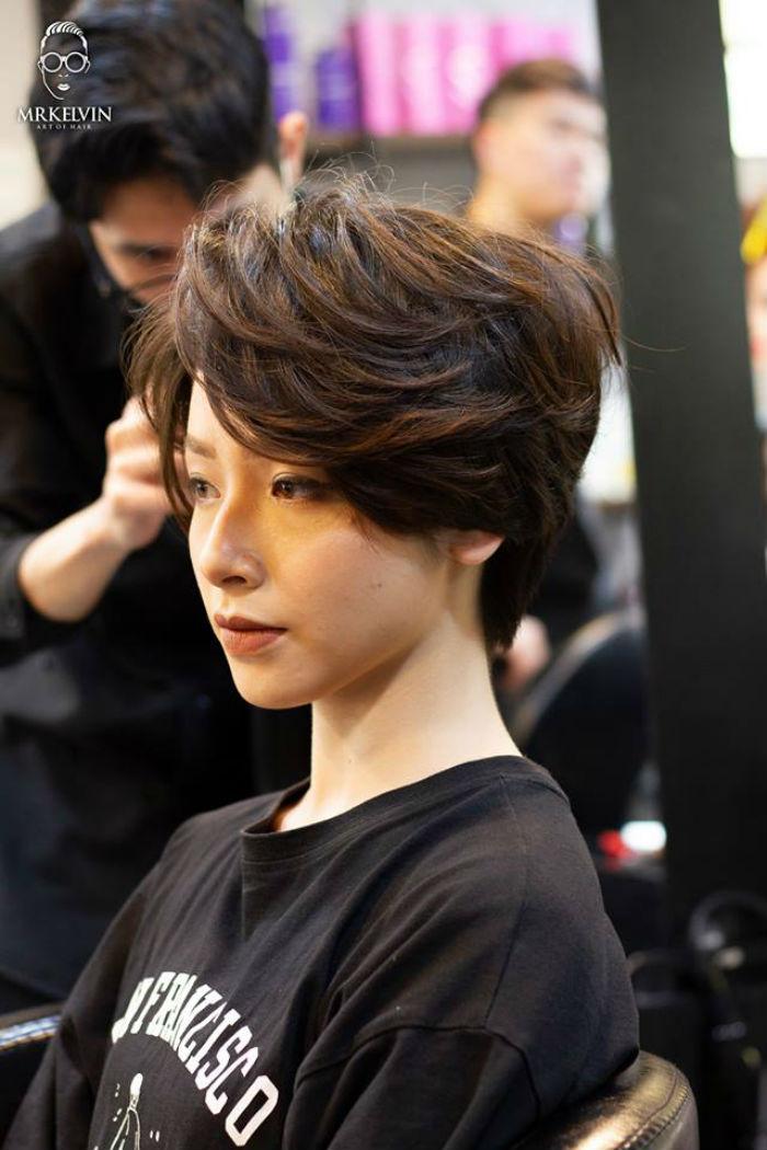 cắt tóc tại Salon MrKelvin 2