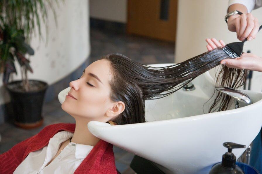 chăm sóc tóc sau khi cắt