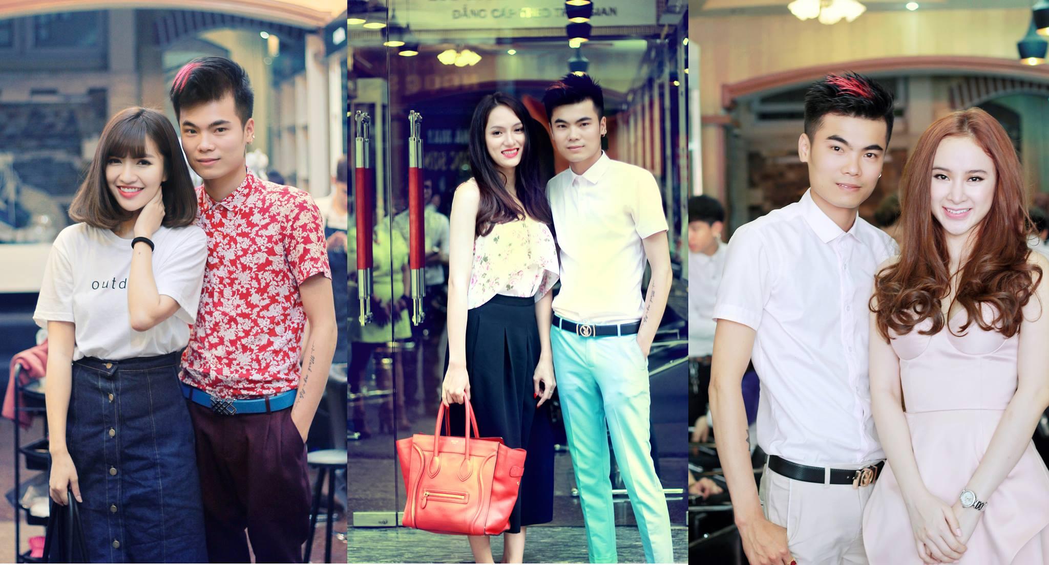chủ tiệm cắt tóc Royal Nguyễn Hairstylist