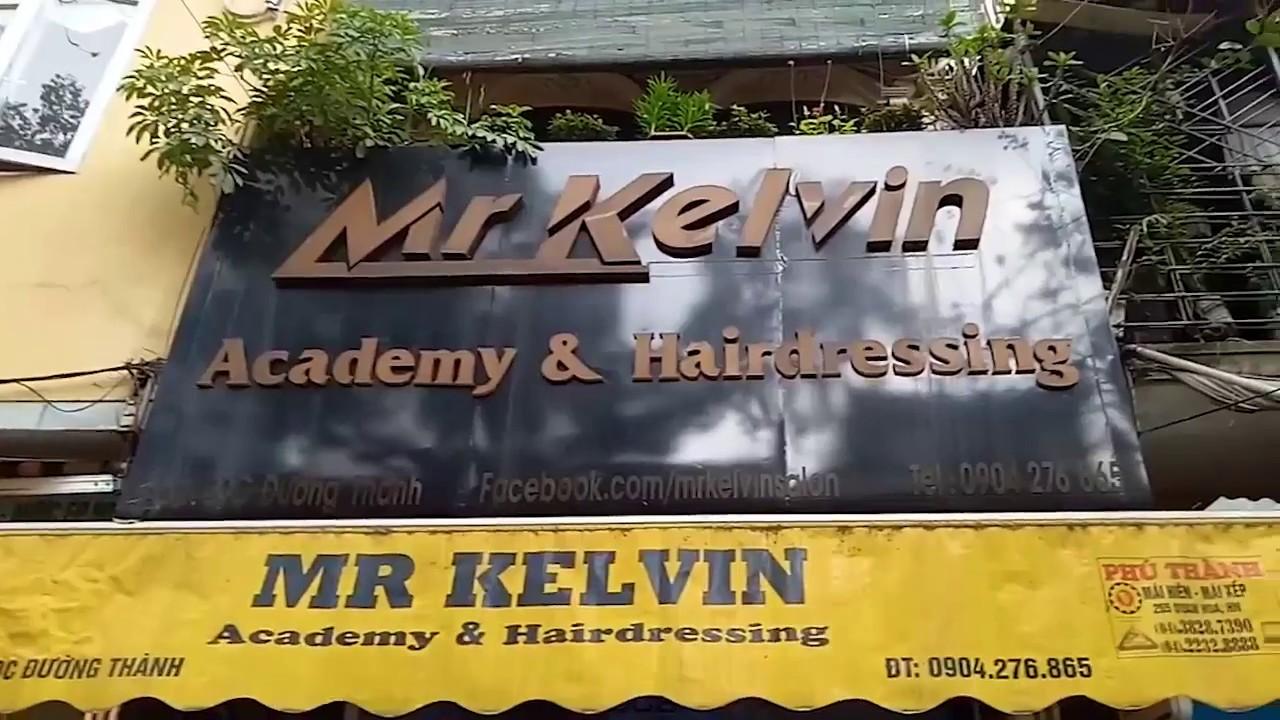 địa chỉ cắt tóc Salon MrKelvin