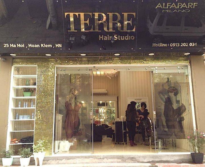 địa chỉ cắt tóc Salon Terre hoàn kiếm
