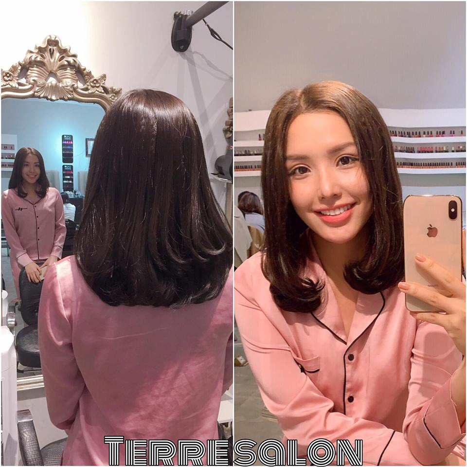 kết quả cắt tócSalon Terre 2