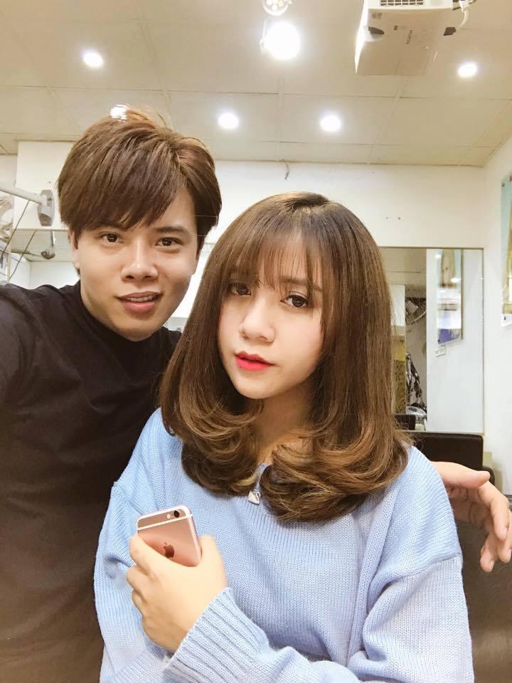 kết quả cắt tóc tại Sinh Anh Hair salon 1