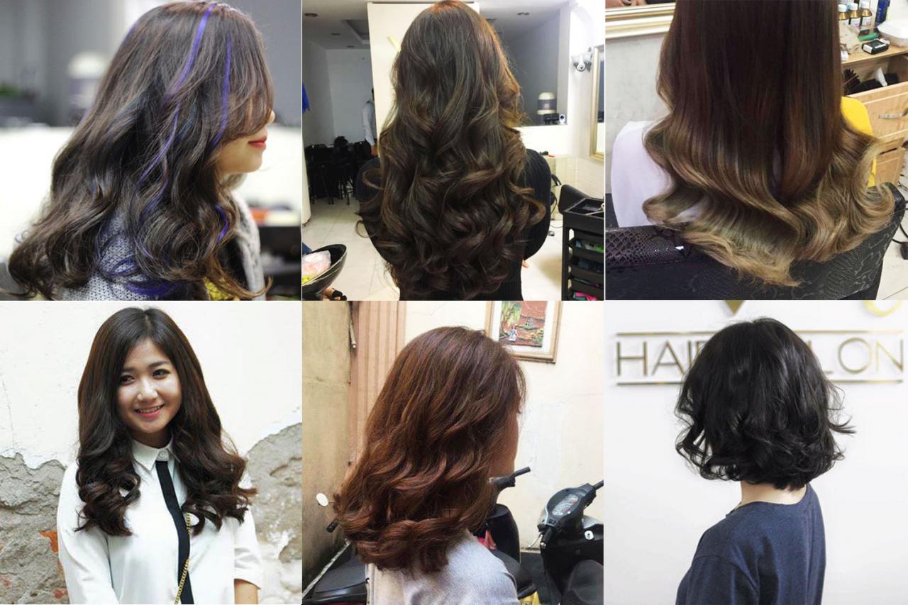 kết quả cắt tóc Vũ Hair Salon